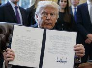presidente trump firmo dos nuevas ordenes ejecutivas