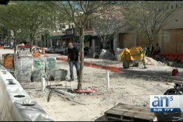 molestos propietarios por demoras de trabajos en zonas de coral gables