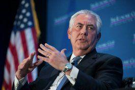 tillerson: trump busca detener apoyo financiero de eeuu al regimen cubano