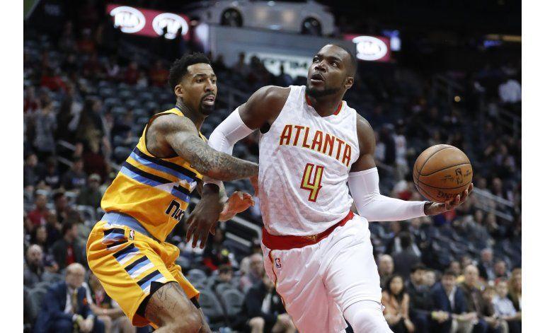 Hawks superan a Nuggets de principio a fin