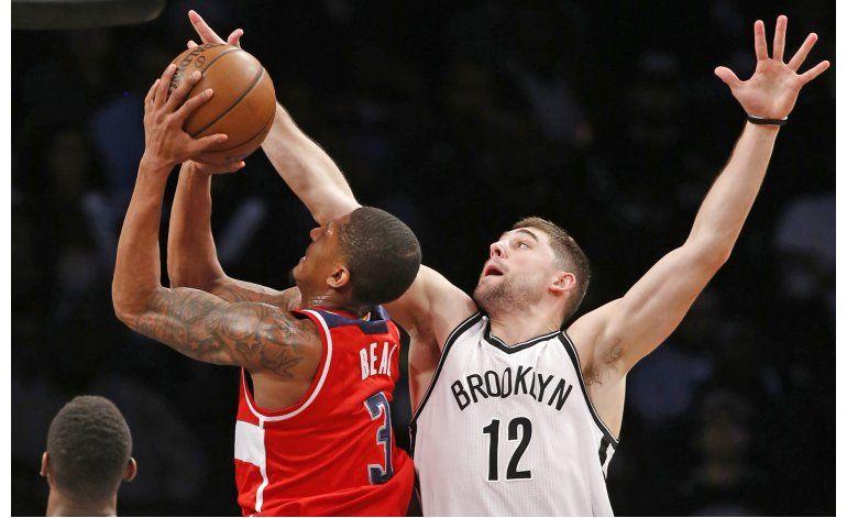 Wizards endilgan a Nets su 11ma derrota en fila
