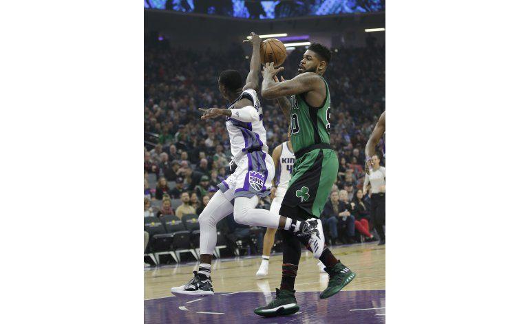 Collison anota 26, los Kings cortan la racha de los Celtics