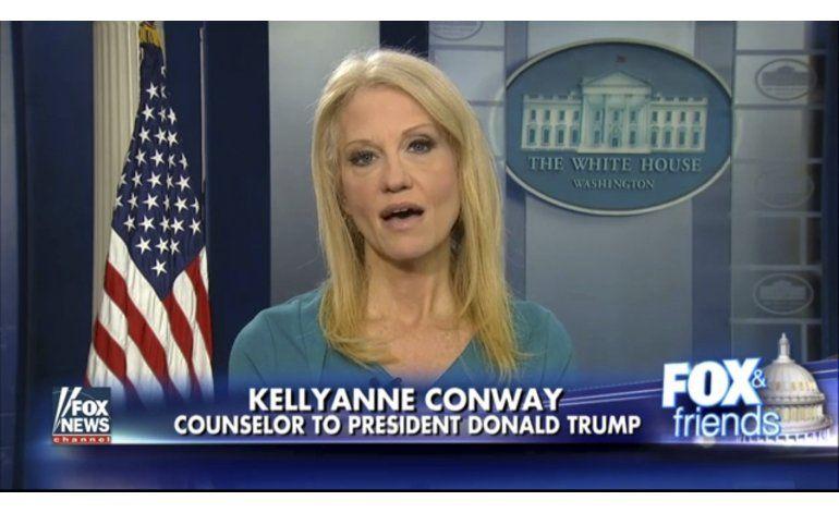 Casa Blanca aconseja a Conway tras promover a Ivanka Trump
