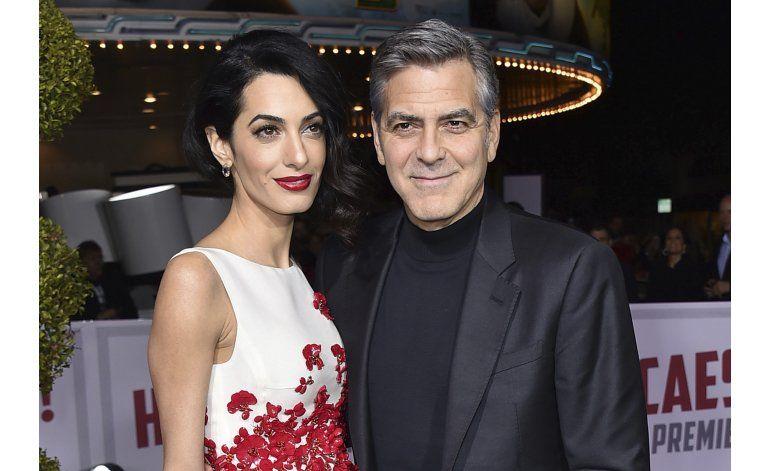 George y Amal Clooney tendrán mellizos este año
