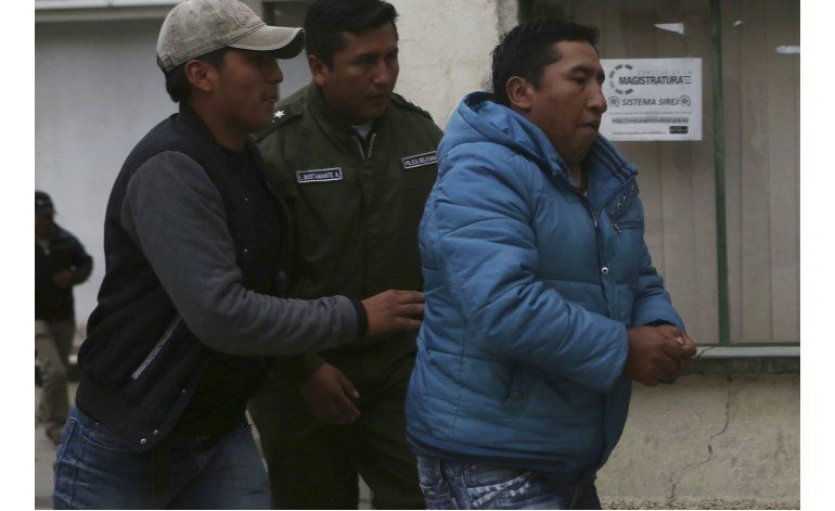 Bolivia: presunto asesino de viceministro irá a prisión