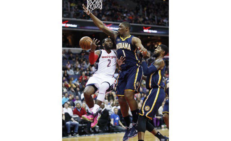 John Wall lidera victoria de Wizards ante Pacers