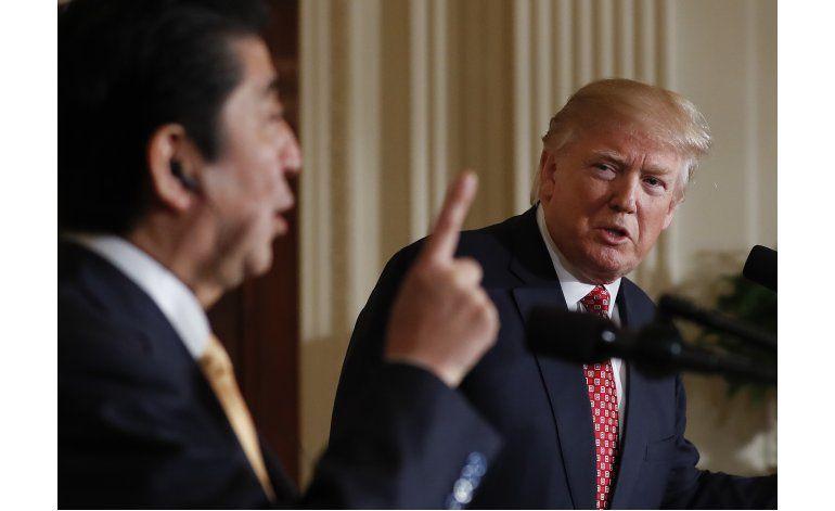 Trump ataca a México en comercio, Japón y Alemania se libran