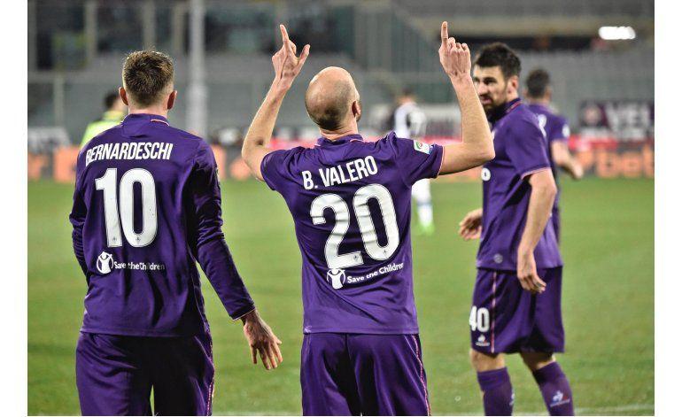 Valero ilumina victoria de Fiorentina ante Udinese