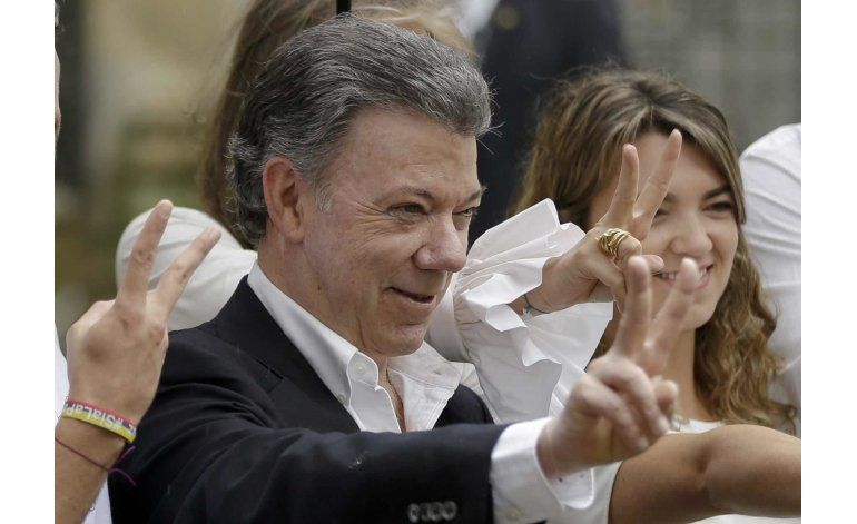 Trump promete a Santos apoyar la paz en Colombia