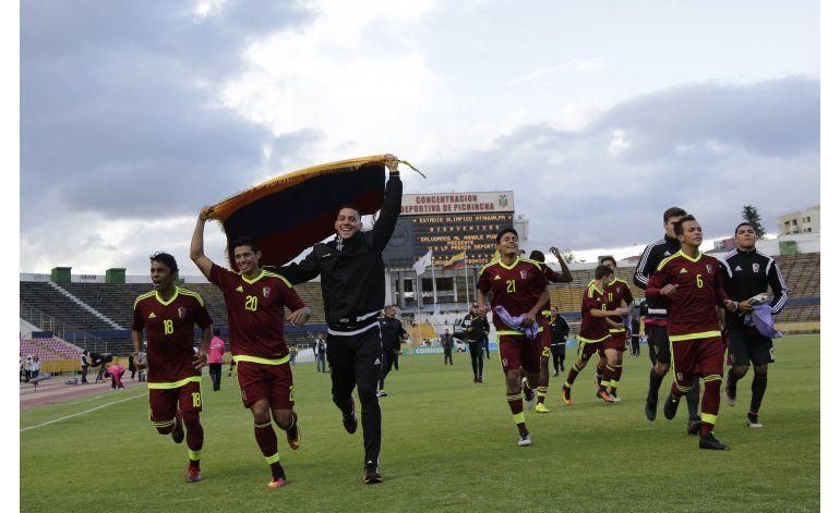Argentina vence a Venezuela y se clasifica al Mundial
