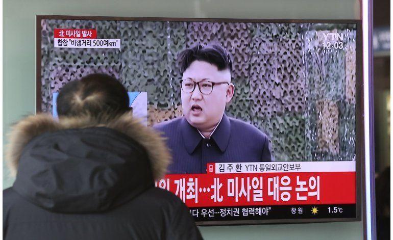 Corea del Norte habría lanzado un misil en desafío a EEUU
