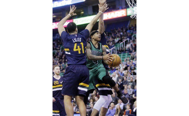 Celtics ganan al Jazz 112-104 con Thomas y Olynyk al frente