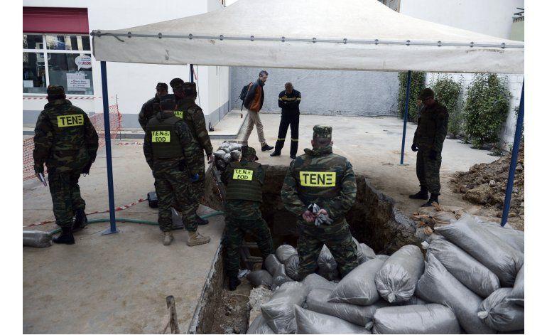 Desactivan una bomba de la IIGM tras evacuaciones en Grecia