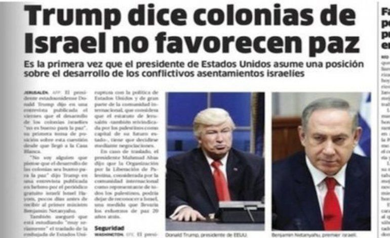 El diario dominicano que confundió en una foto a Donald Trump con el actor Alec Baldwin