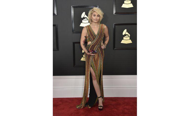 Hija de Michael Jackson aparece en los Grammy