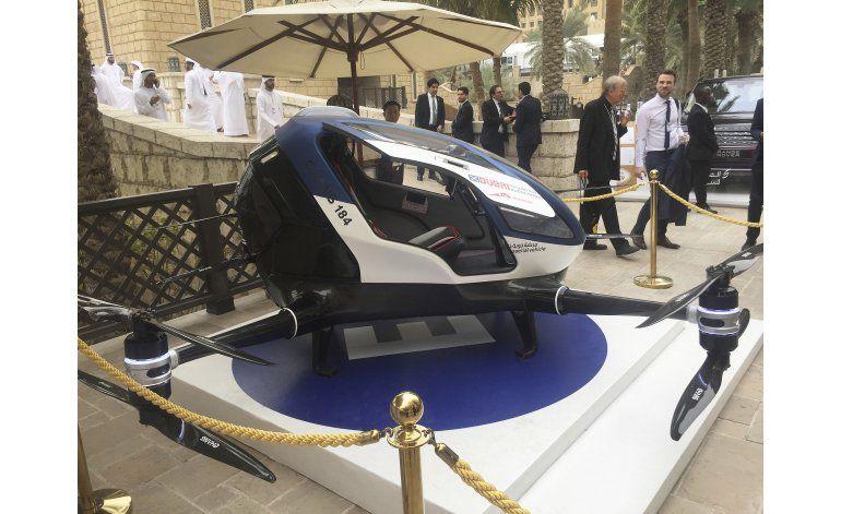 Dubái planea contar con dron para pasajeros en julio