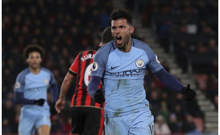 Pese a lesión de Gabriel Jesús, el City vence en Bournemouth