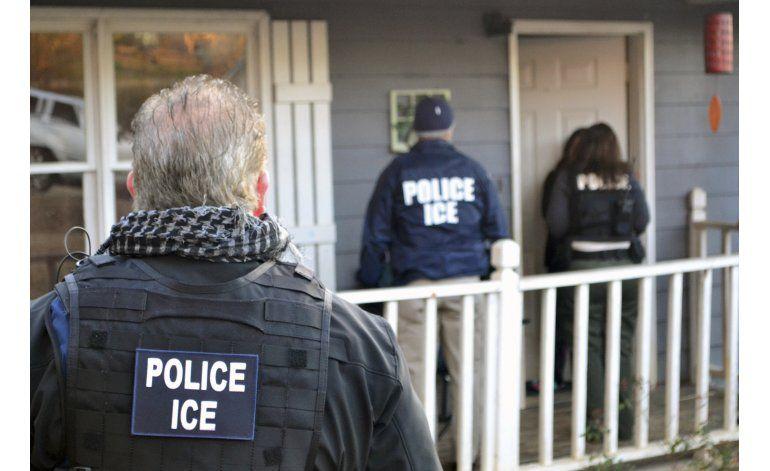 Arrestan a 680 inmigrantes en una semana en EEUU