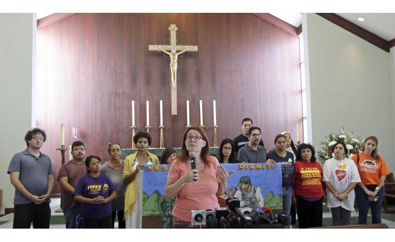 Inmigrantes de Miami inician ayuno suplicando protección