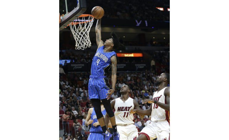 Magic rompe racha de 4 derrotas, vencen al Heat