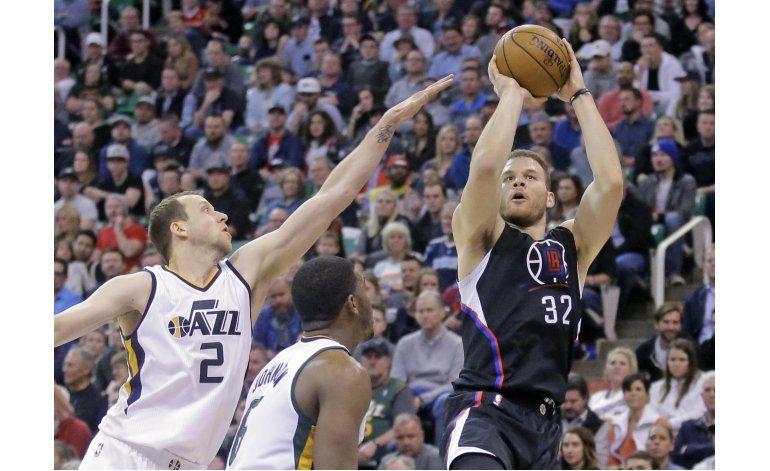 Griffin domina y los Clippers se imponen al Jazz 88-72