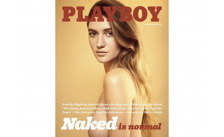 Regresan los desnudos a Playboy