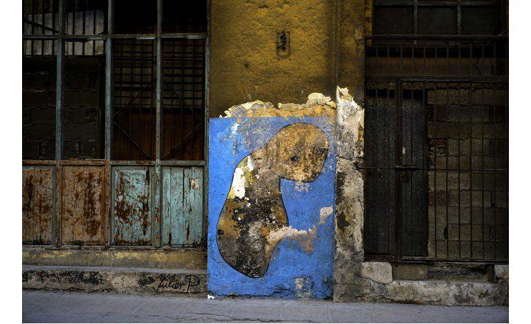Artista cubano le pone diversidad a los muros de La Habana