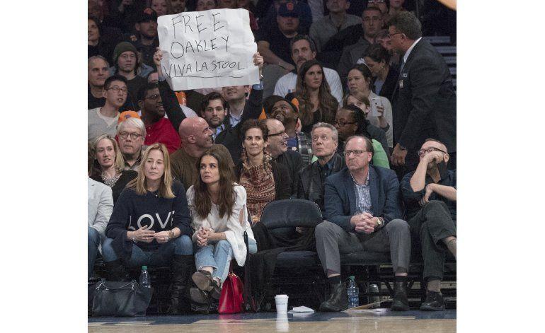 Fuente AP: Oakley sí podrá volver al Madison Square Garden