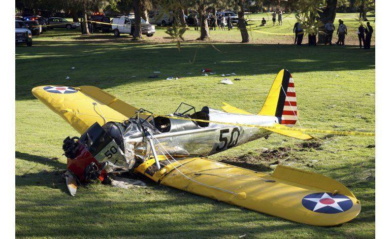 Harrison Ford tiene incidente con avión de pasajeros