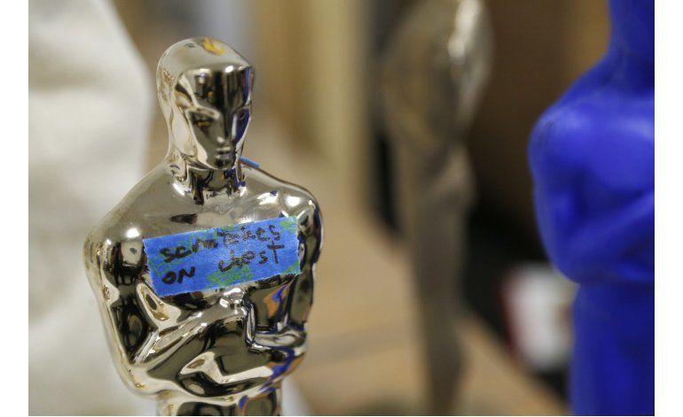 Fundición crea cada Oscar como una obra de arte