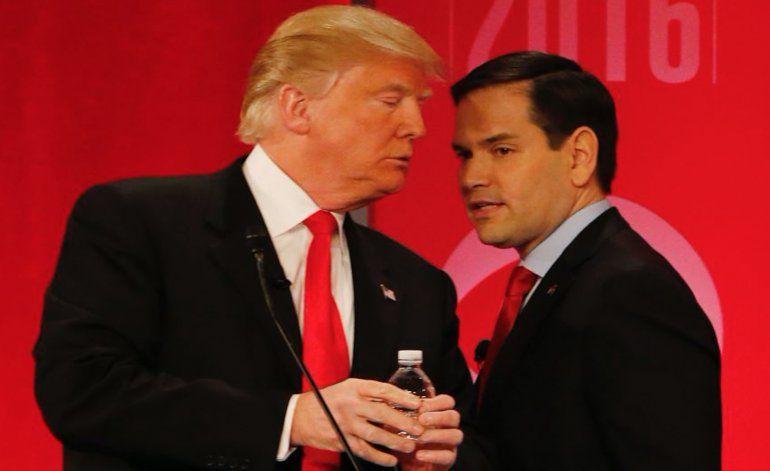 Los Trump cenan hoy con Marco Rubio y su esposa