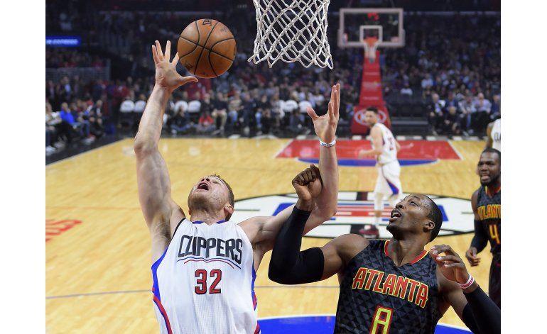 Clippers derrotan a Hawks 99-84, suman 4to triunfo seguido