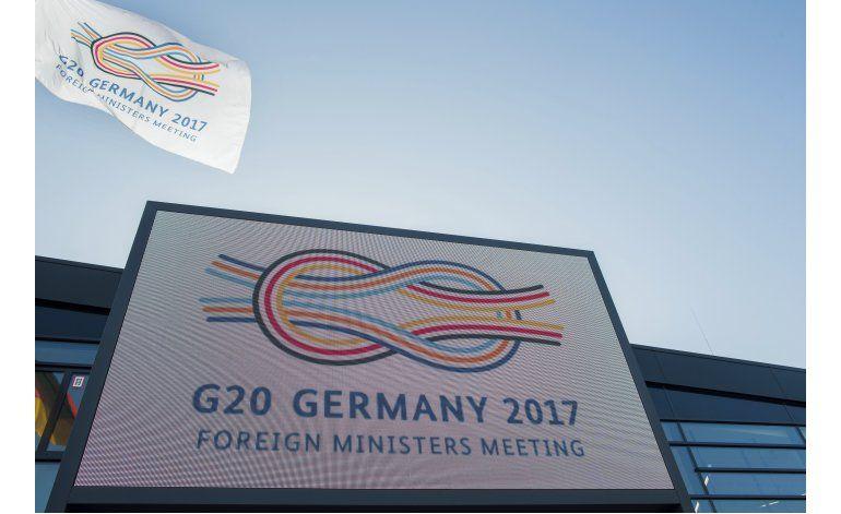 Diplomáticos de G20 tratan desarrollo y prevención de crisis