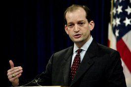 el senado confirmo al cubanoamericano alexander acosta como secretario del trabajo