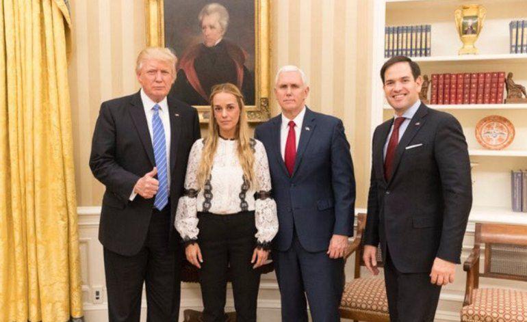 Lilian Tintori revela detalles de su encuentro con Donald Trump en la Casa Blanca