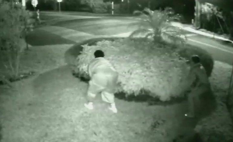 Captado en cámara: asalto a punta de pistola en Wilton Manors