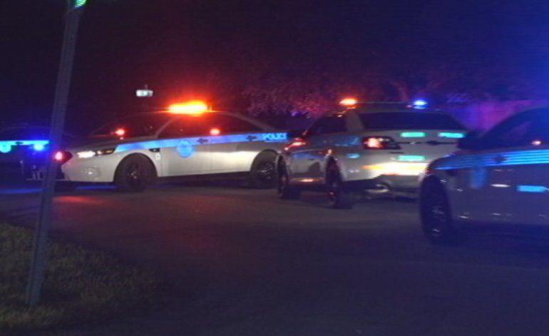 Dos hombres armados que asaltaron a una mujer en plena calle