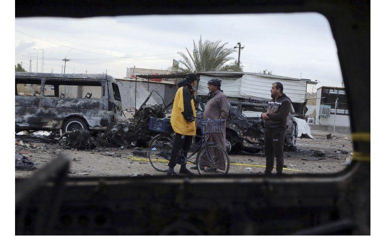 Irak: Suben a 59 los muertos en ataque reivindicado por EI