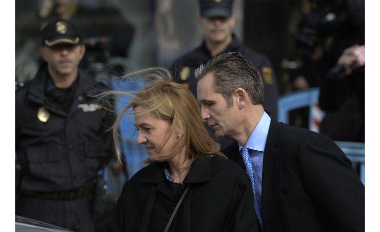 España: absuelta infanta Cristina en caso de fraude fiscal