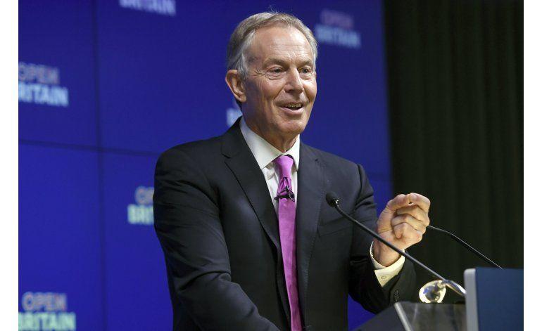 Ex primer ministro Blair hace campaña contra el Brexit