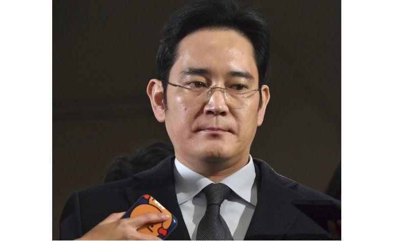 Corte surcoreana ordena arrestar al heredero de Samsung