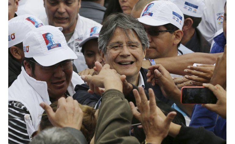 Ecuatorianos en período de reflexión para elegir presidente
