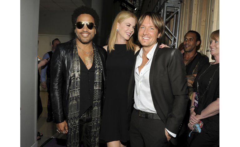 Nicole Kidman dice que estuvo comprometida con Lenny Kravitz