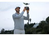 dustin johnson, nuevo numero 1 del golf