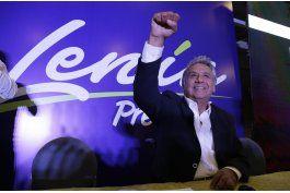 ecuador: lenin moreno lidera conteo de votos