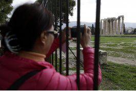 huelga cierra la acropolis y monumentos historicos en grecia