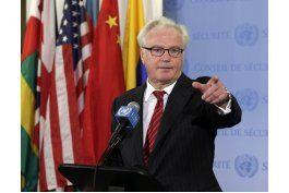 muere embajador de rusia en la onu; tenia 64 anos