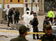 atentado en colombia deja mas de una veintena de heridos
