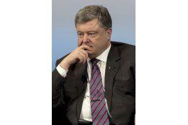 ucrania: presidente pide sanciones a rusia