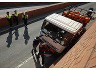 espana arresta sueco que robo camion e iba en contrasentido